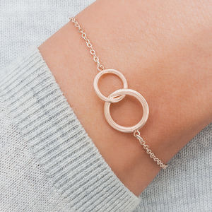 Lia Personalised Eternity Circle Of Life Bracelet - bracelets & bangles