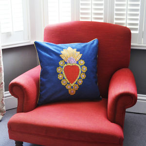 'The Mexican Heart' Cushion