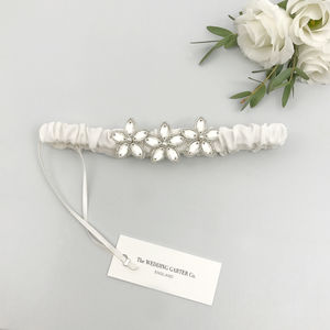 Luxury Bridal Garter Various Colours