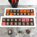 Personalised Chocolate Top Marks Great Results Exams