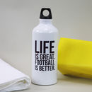 Personalised Favourite Hobby Water Bottle