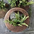 Round Copper Hanging Planter