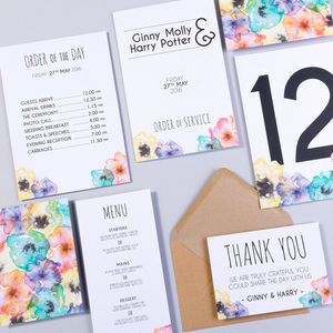 Table Plan, Numbers, Place Cards, Menus : Hogsmeade - table plans