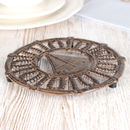Sail Away Nautical Cast Iron Trivet