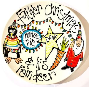 A Little Plate For Santa