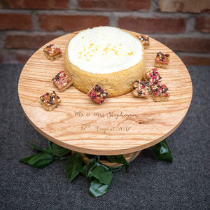 Personalised Wooden Cake Stand - view all new