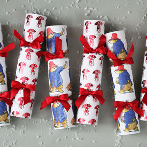 Official Paddington Bear Luxury Christmas Cracker - crackers