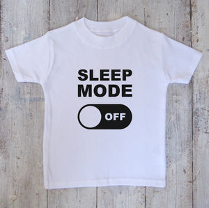 Sleep Mode Kids T Shirt - clothing