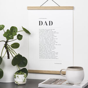 Professionally Written Ode To Dad
