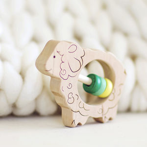 Sheep Eco Baby Rattle