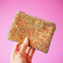 Sparkly Glitter Coin Purse