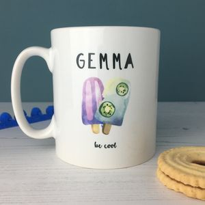 Be Cool Ice Lolly China Mug