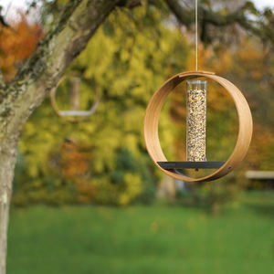 Handmade Bird Seed Feeder - gifts for her