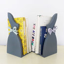 Pair Of Little Grey Rabbit Bookends