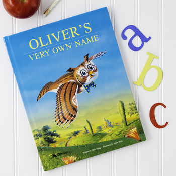 Personalised 'My Very Own Name' Story Book