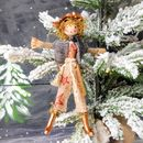 Personalised Christmas Tree Topper For Gardeners