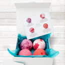 Berry Collection Organic Bath Bomb Gift Set