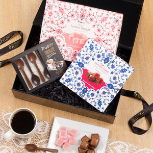 Turkish Delight And Chocolate Spoon Gift Set - sweet hampers