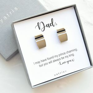 Father Of The Bride Cufflink Gift Set