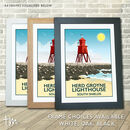 The Groyne, South Shields, North East England Print