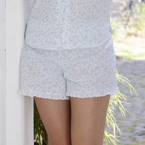 Organic Cotton Pyjama Shorts - women's fashion