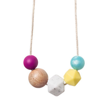 Surf Teething Necklace