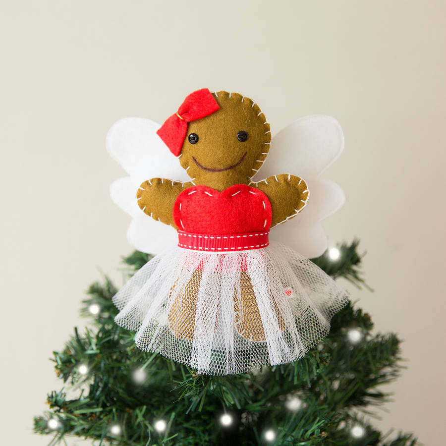 Original Gingerbread Fairy Christmas Tree