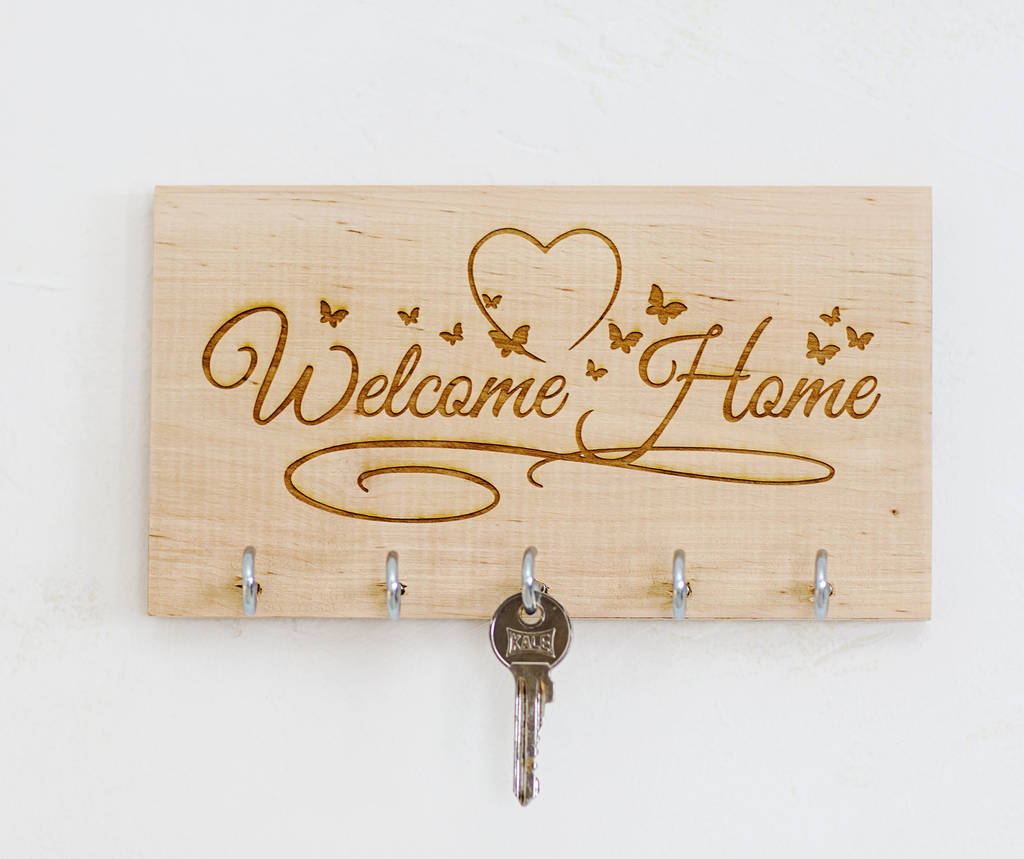 Welcome Home Key Holder