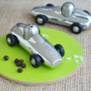 Personalised Racing Car Salt And Pepper Set