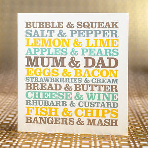 Mum And Dad Anniversary Card - cards & wrap sale