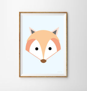 Fox Children's Print - what's new