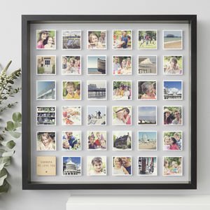 Framed Personalised Grandpa Print - picture frames