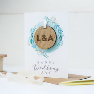 Keepsake 'Happy Wedding Day' Card