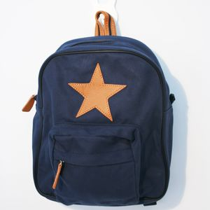 Children's Star Backpack In Various Colours