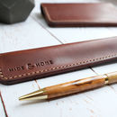Italian Leather Pen Sleeve
