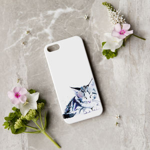 Inky Kitten Phone Case