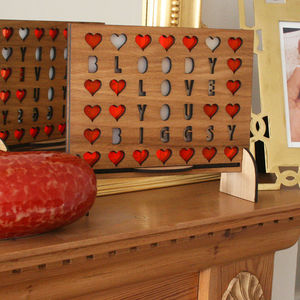 Personalised Valentine's Four In Row Game - playful valentine's gifts