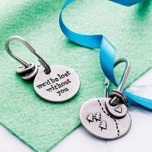 'Lost Without You' Keyring - view all father's day gifts