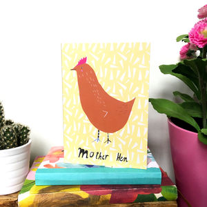 Mother Hen Card - what's new