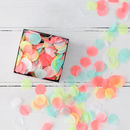 Neon Multi Colour Party Confetti In A Box
