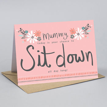 Mother's Day Card For Mum Or Mummy