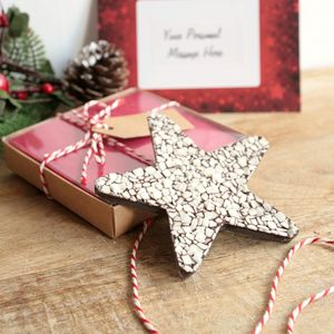 Gift Boxed Chocolate Star