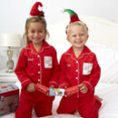 Personalised Christmas Letter To Santa Pocket Pyjamas