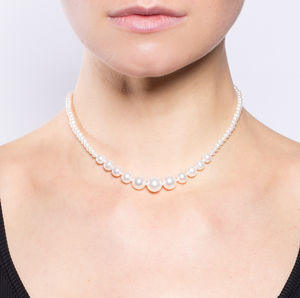 Graduated Freshwater Pearl Necklace - necklaces & pendants