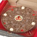 Strawberry Sensation Chocolate Pizza