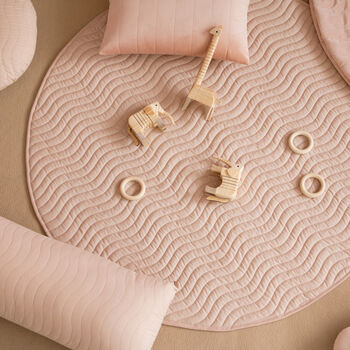 Bloom Pink Organic Cotton Floor Mat