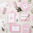Mandala Wedding Stationery Sample Pack
