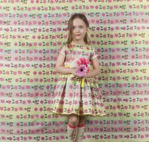 Margaret 'Flower Rows' Dress