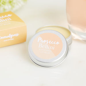 Prosecco Bellini Cocktail Flavour Lip Balm - lip balms & glosses