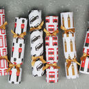 Six Luxury London Christmas Crackers